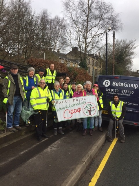 Bacup Pride Clean Up 4