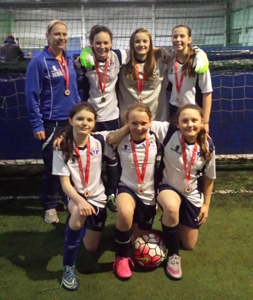 Haslingden High School Girls Football 1