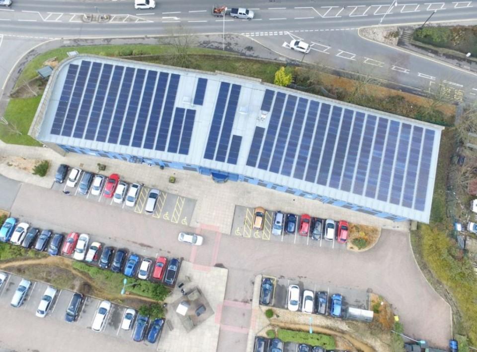 Solar Panels Futures Park