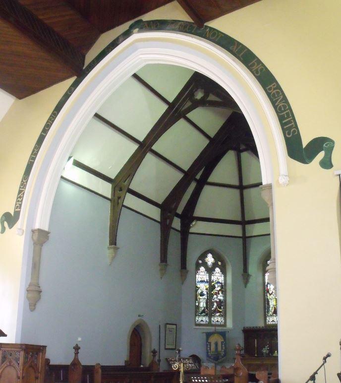 St Anne's Church inside