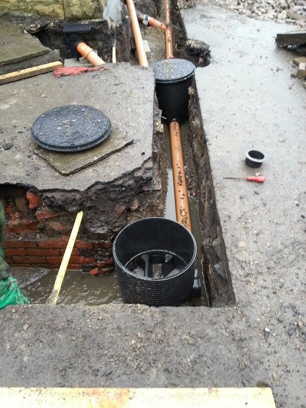 Our Building Control Officer says they stare at holes in the ground...we say it's much more than that!