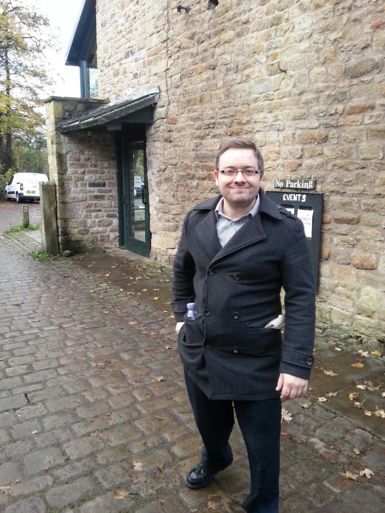Here's our Officer, Dorian, on a visit to Barrowford Memorial Park to share info on how Pendle BC maintain their Parks & Open Spaces