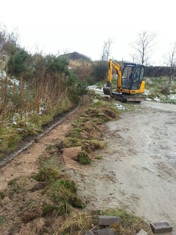 Our Park and Open Spaces team are working on improvements around the Halo