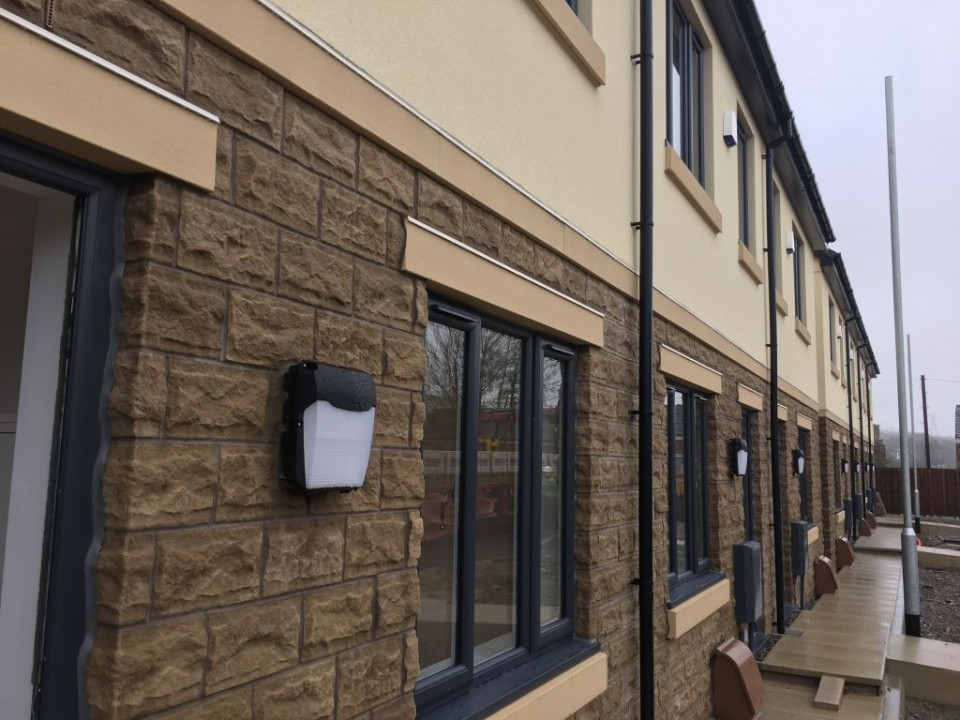Our Chief Executive and some Councillors have been viewing new modular housing in Bacup