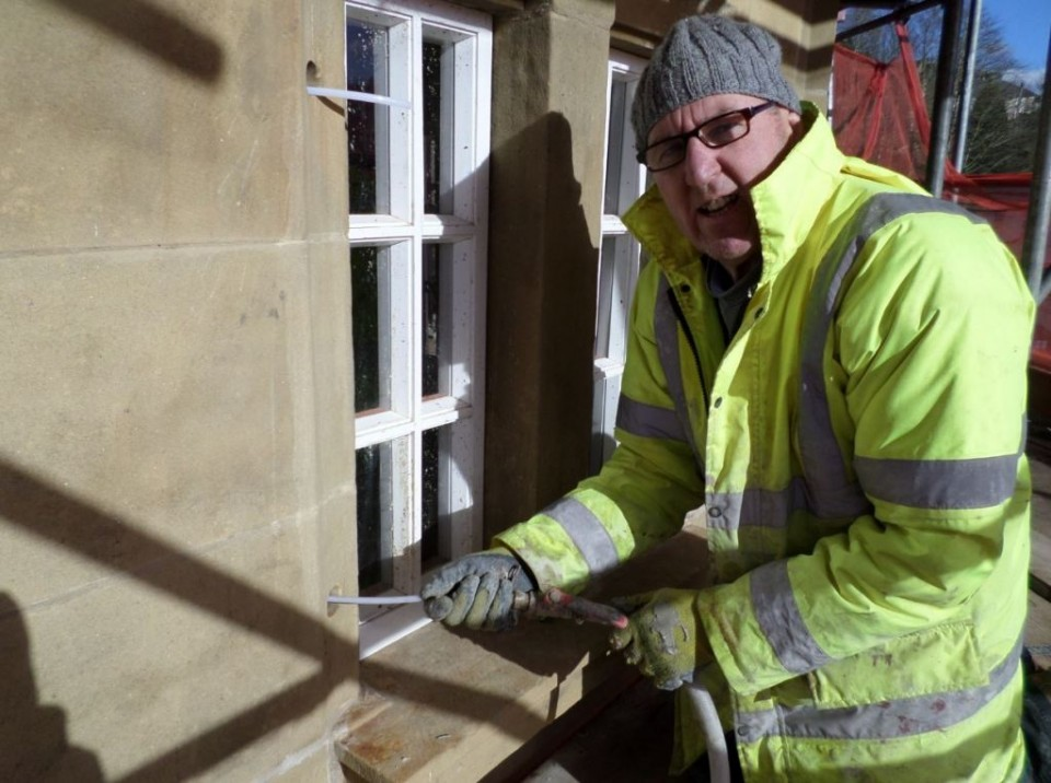 Stone Work Cintec Ties Work